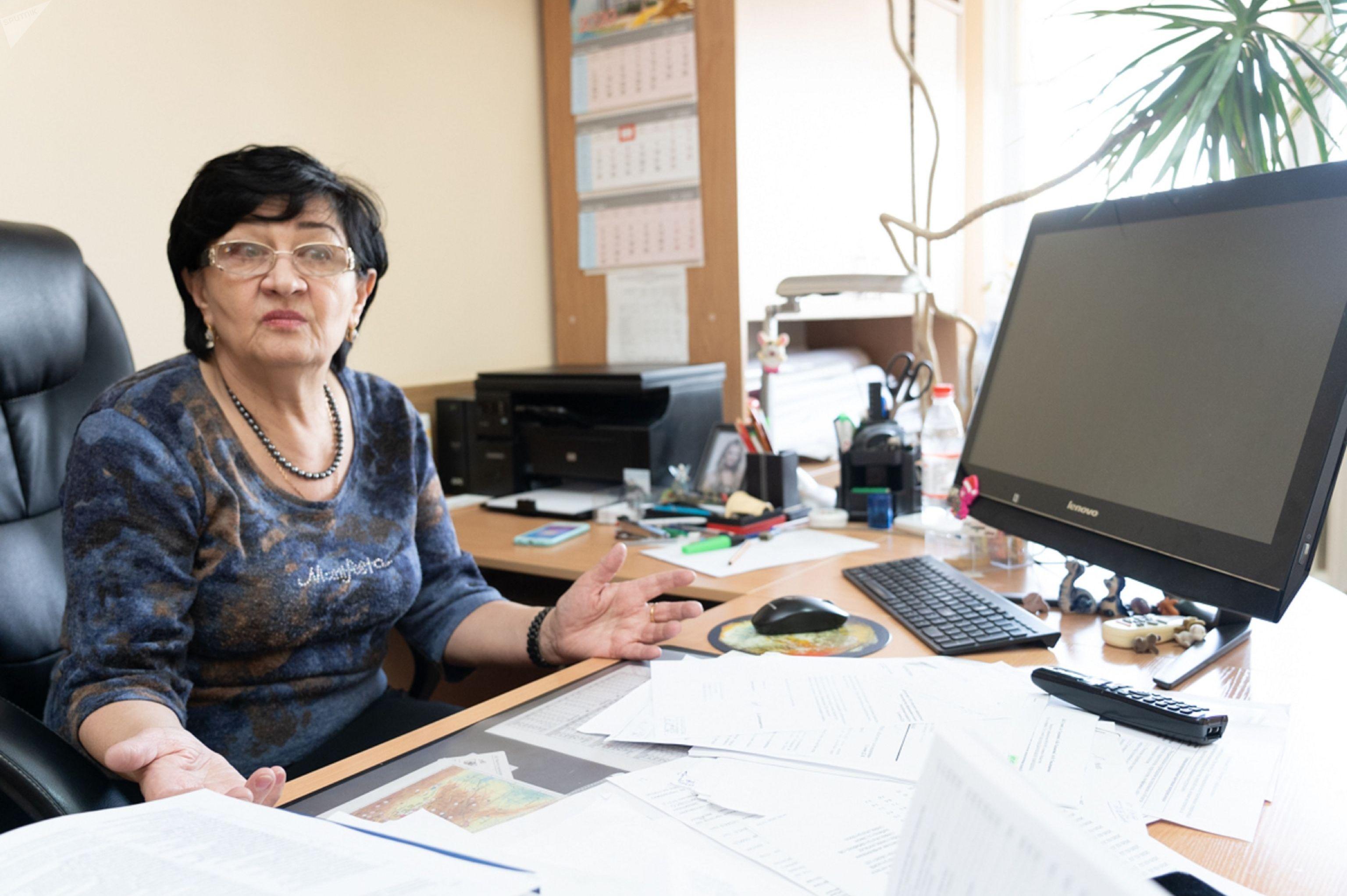 Заведующая лабораторией региональной сейсмичности Института сейсмологии, доктор физико-математических наук Алла Садыкова