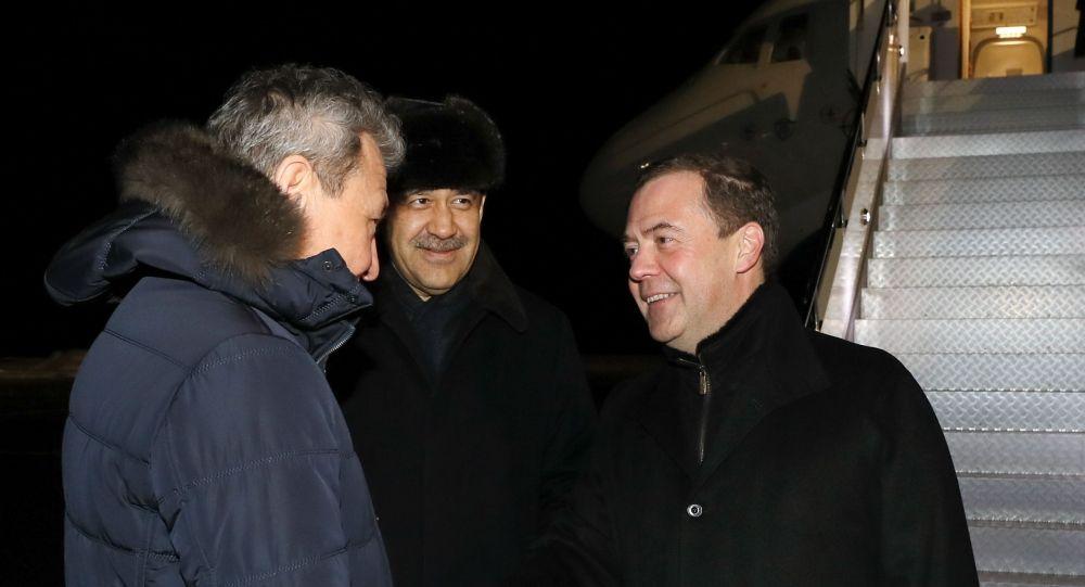 Ресей Қауіпсіздік кеңесі басшысының орынбасары Дмитрий Медведевтің Қазақстанға жұмыс сапары