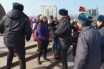 Милиция пресекла марш феминисток в Бишкеке