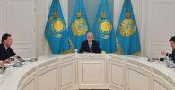 Совещание под председательством К.-Ж. Токаева