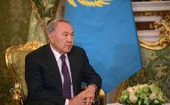 Нурсултан Назарбаев во время встречи с президентом России Владимиром Путиным в Кремле, архивное фото
