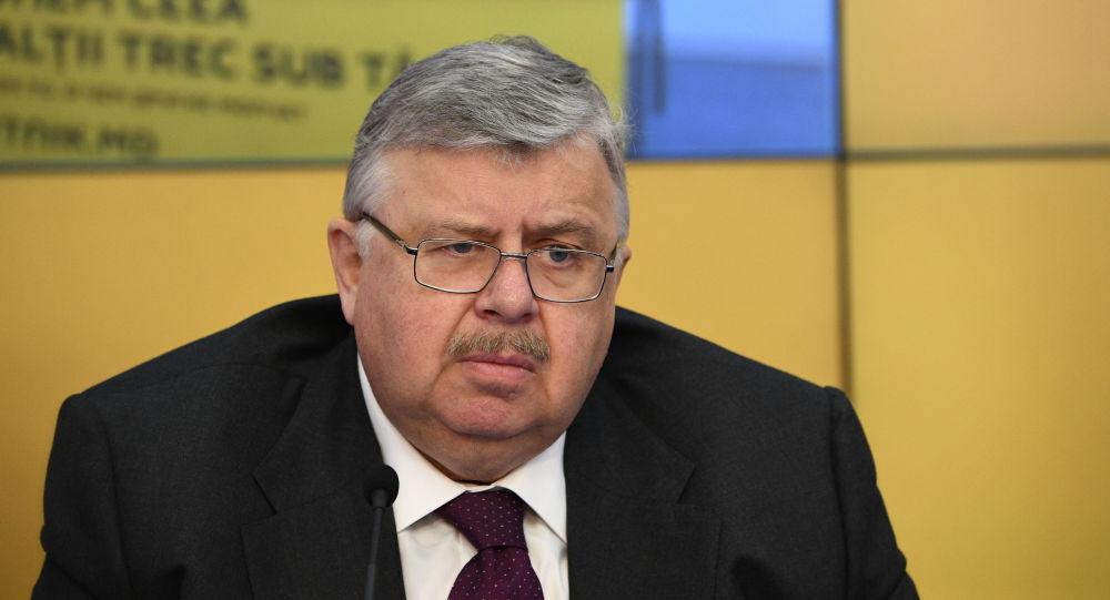 Глава Евразийского банка развития доктор политических наук, доктор экономических наук Андрей Бельянинов