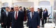 Мәскеуде Назарбаевқа ММУ қоғамдық марапаты тапсырылды