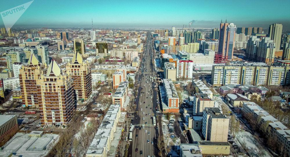 Астана, жоғарыдан көрініс