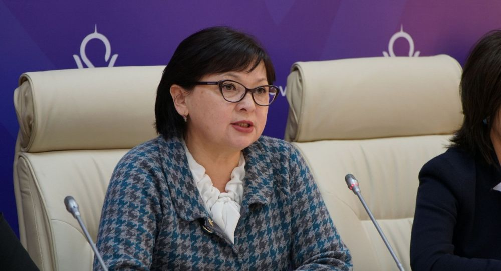 Руководитель управления общественного здравоохранения Нур-Султана Сауле Кисикова