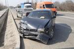 Четыре автомобиля столкнулись на одной из алматинских улиц