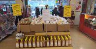 Алматинцы поддались общей панике: оптом скупают продукты питания и медикаменты
