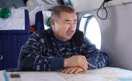 Ерлан Тургумбаев в ходе облета произвел аэровизуальный осмотр снегозапасов