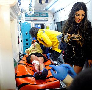 Стамбул түнгі клубындағы терактіден зардап шеккендер