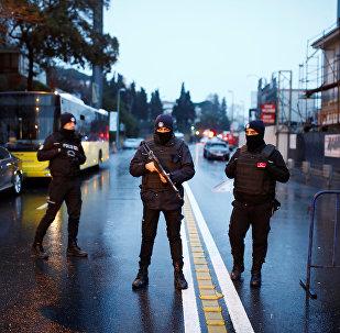 Службы безопасности Турции после теракта в Стамбуле