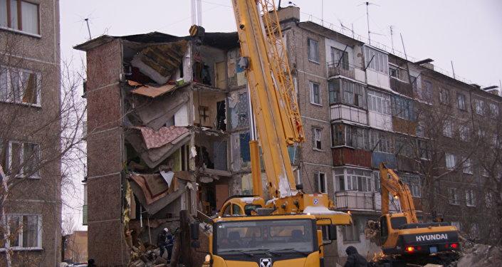 Пофакту обрушения дома вКазахстане возбудили уголовное дело