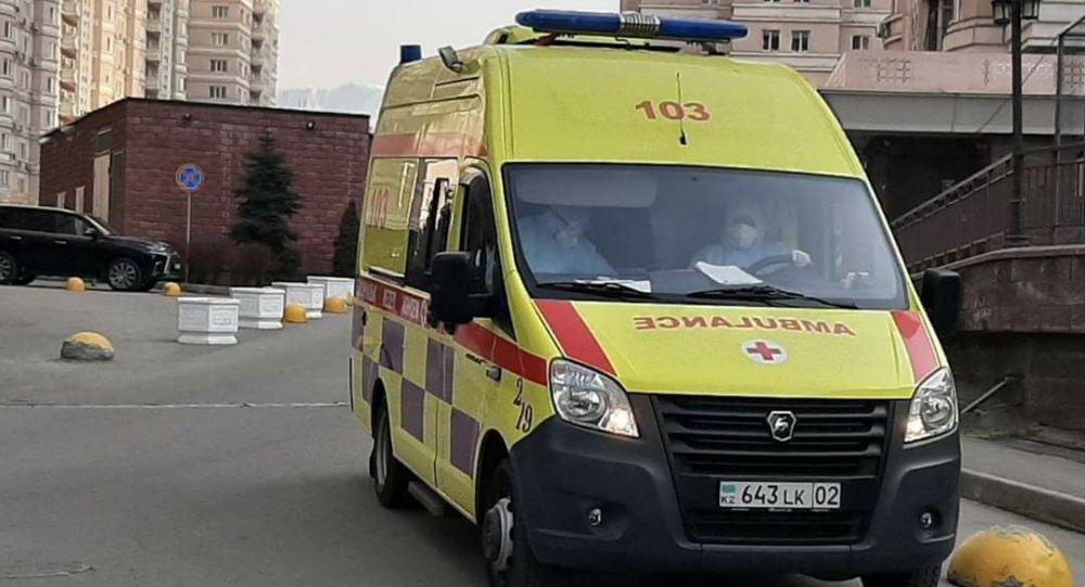 Карета скорой помощи в Алматы