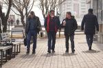 Астана  көшесіндегі адамдар