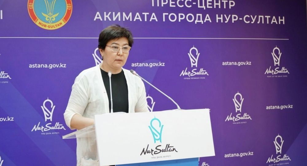 Руководитель управления образования Нур-Султана Шолпан Кадырова