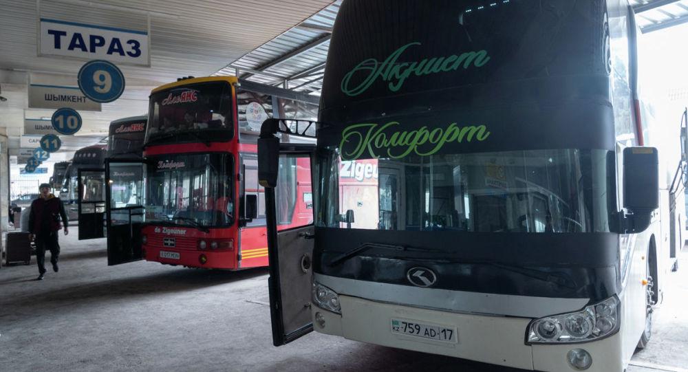 Қалааралық бағытта қатынайтын автобустар