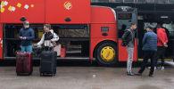 Обстановка на алматинских автовокзалах в связи с ситуацией по коронавирусу