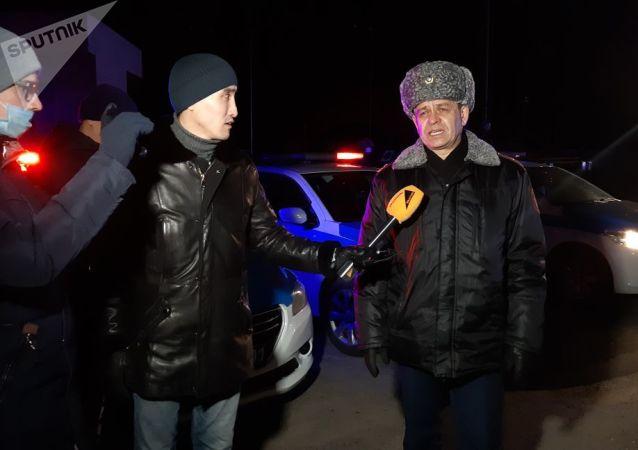 Заместитель начальника департамента полиции Нур-Султана Сабыр Жусупбеков