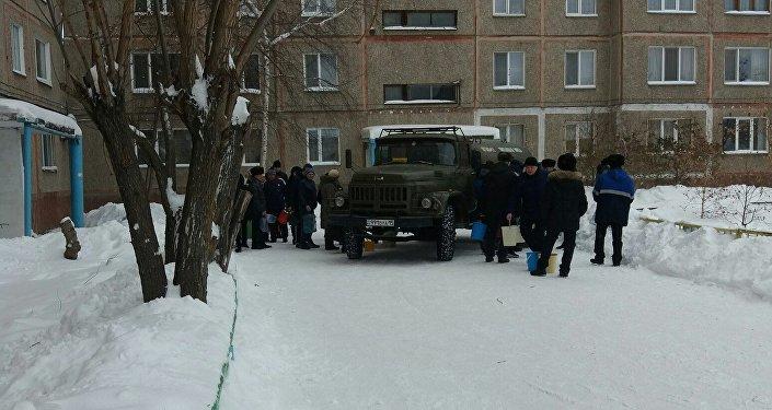 Жители Петропавловска остались без воды в праздничные дни