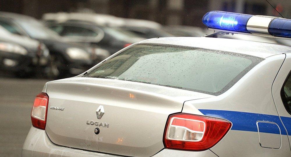 Архивное фото полицейского автомобиля