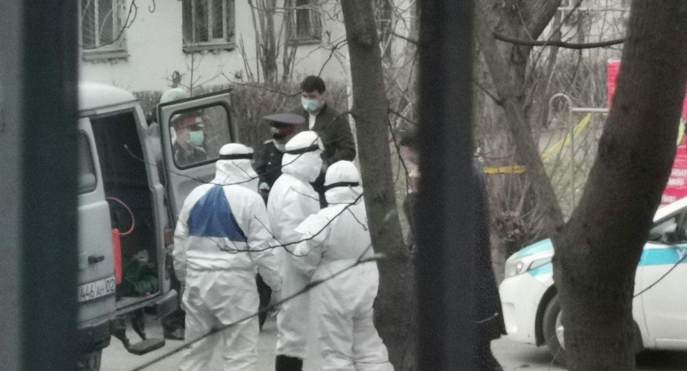 Дезинфекция жасаушылар, Алматы