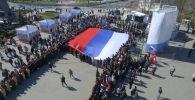 Владимир Путин приехал в Крым в годовщину воссоединения с Россией