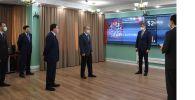 Токаев посетил оперативный центр по координации и мониторингу чрезвычайных ситуаций