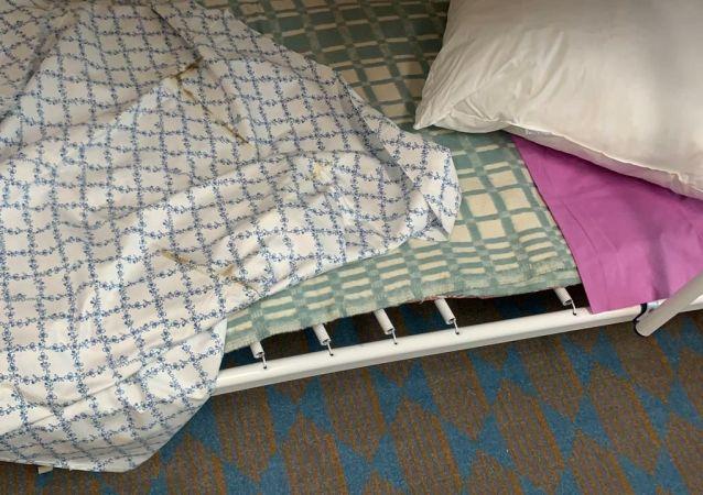 Условия для прибывающих на карантин в гостинице Рамада