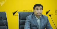 Советник премьер-министра Кыргызстана по экономике Кубат Рахимов