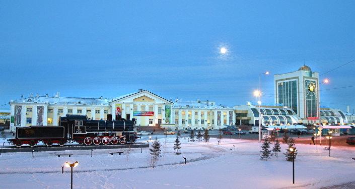Железнодорожный вокзал Астаны