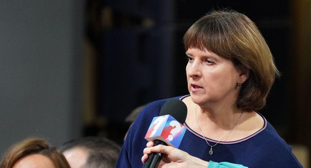 Спортсменка, комментатор телеканала Матч ТВ Ольга Богословская