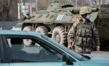 Блокпосты в Алматы