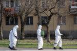 Дезинфекция улиц в Алматы