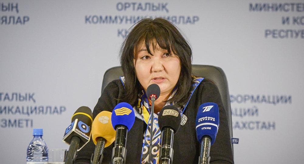 Вице-министр сельского хозяйства РК Гульмира Исаева