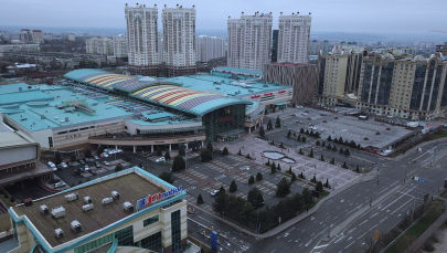 Алматының бос көшелері