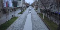 Карантиндегі Алматы: құс қанаты талатын биіктіктен түсірілген видео