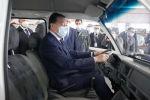Премьер-министр Казахстана Аскар Мамин принял участие в запуске проекта по сборке Chevrolet