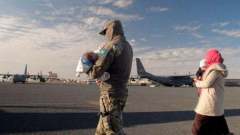 Операция по возвращению казахстанцев из Сирии Жусан