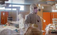 Медик в больнице с коронавирусом
