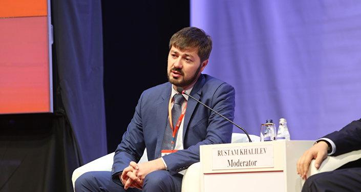 Директор по транспорту ТОО Астана LRT Рустам Халилев