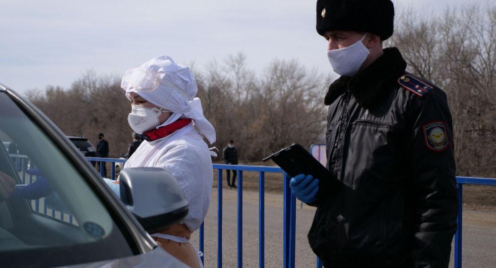 Блокпосты вокруг Петропавловска работают в круглосуточном режиме