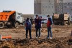 Строительство больницы для зараженных коронавирусом под Нур-Султаном