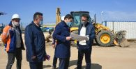 Алматыдағы карантин орталығының құрылыс алаңы