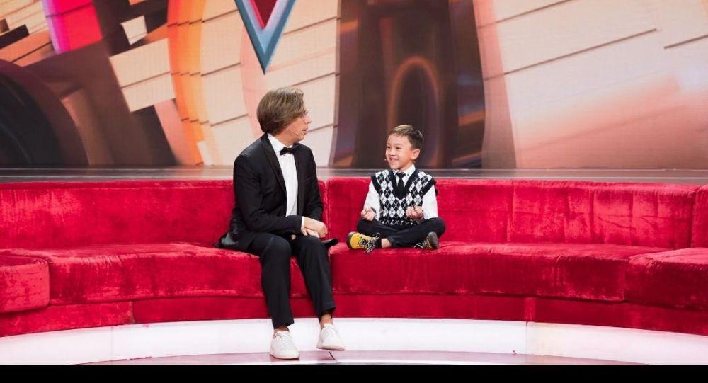 Семилетний Дариан Едрешев из столицы Казахстана стал гостем программы Максима Галкина Лучше всех!