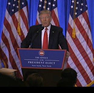 LIVE: Первая официальная пресс-конференция избранного президента США Дональда Трампа