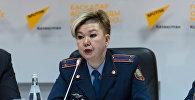Начальник управления миграционной полиции ДВД Астаны Гульвира Доненбаева