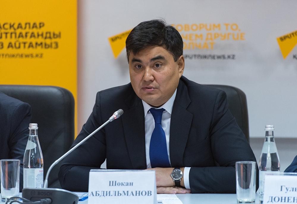 Заместитель директора дирекции оказания государственных услуг НАО Государственная корпорация Правительство для граждан Шокан Абдильманов