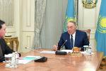 Назарбаев встретился с премьер-министром Аскаром Маминым