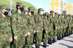 Сформированная из добровольцев рота охраны несет службу в карантинном жилом комплексе