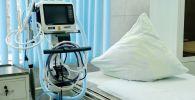 Аппарат для искусственной вентиляции легких в больнице, архивное фото