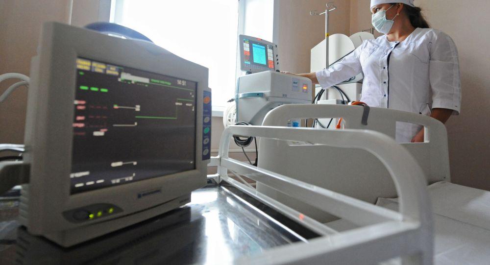 Подготовка оборудования для искусственной вентиляции легких в больничной палате